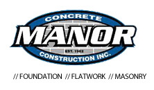 manor concrete construction